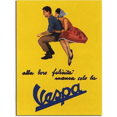 LOCANDINA IN LATTA VESPA VPBB33 FORME