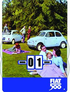 Calendario Fiat 500 Ficl16 Forme_Cod. FICL16_Fiat