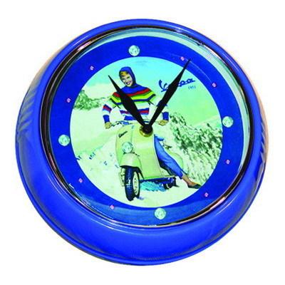 Orologio Da Parete Vespa Diametro 23 Forme Cod.VPLE10 - Vespa