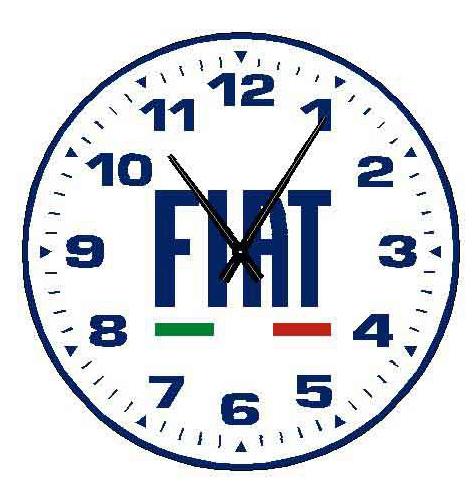 OROLOGIO DA PARETE FIAT FILT01 FORME