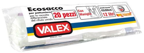 Ecosacco 42X50 20Pz. Cod.1350200 - Valex