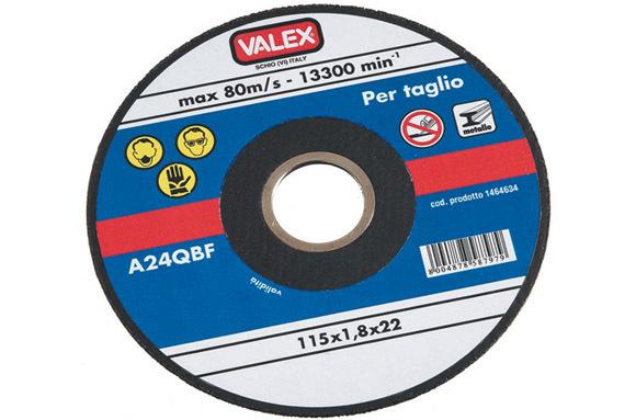 Disco Abr.Fine Taglio Metalli 115Mm_Cod. 1464635_Valex