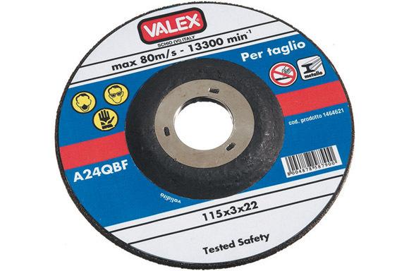 Disco Abr.Taglio Metalli 115Mm_Cod. 1464658_Valex