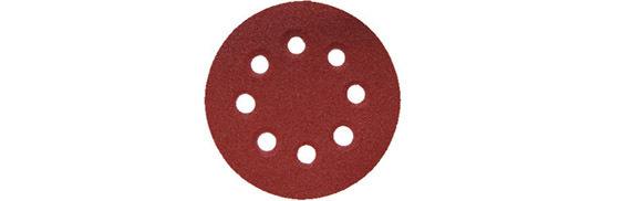 Disco Abrasivo Ø125 Gr80     5 Pezzi_Cod. 1464711_Valex