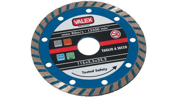 Disco Diamantato Turbo Blu 115Mm_Cod. 1464656_Valex