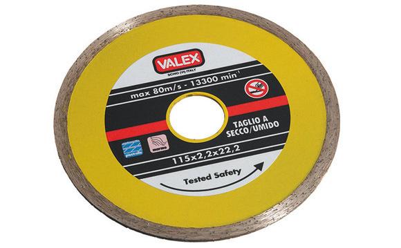Disco Diamantato Continuo 115Mm_Cod. 1464652_Valex
