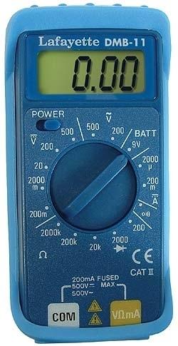 Multimetro Digitale Miniaturizzato Dmb-11 Cod.33096015 - La Fayette