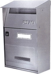 Cassette Per Lettera Alubox - Inox Ft-Lettera Cod.2726010 - Alubox
