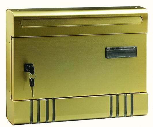 Cassette Per Lettera Blinky - Alex-Maxi Bronzata Cod.2728007 - Blinky