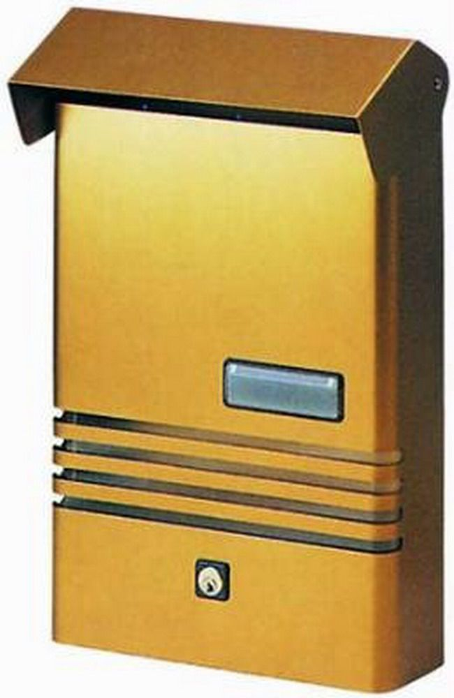Cassette Per Lettera Alu Blinky - Euro-Maxi Rosse Cod.2728510 - Blinky