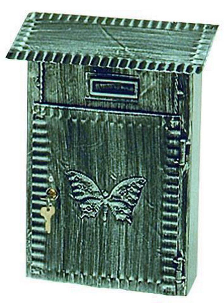Cassette Per Lettera Fe-Battuto - Grande Antichizzata Cod.2734030 - Blinky