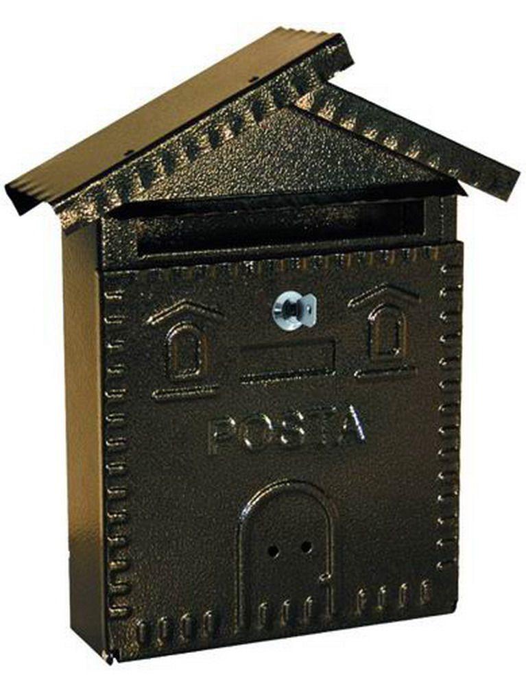 Cassette Per Lettera Ferro - Casetta Antracite Cod.2734220 - Blinky