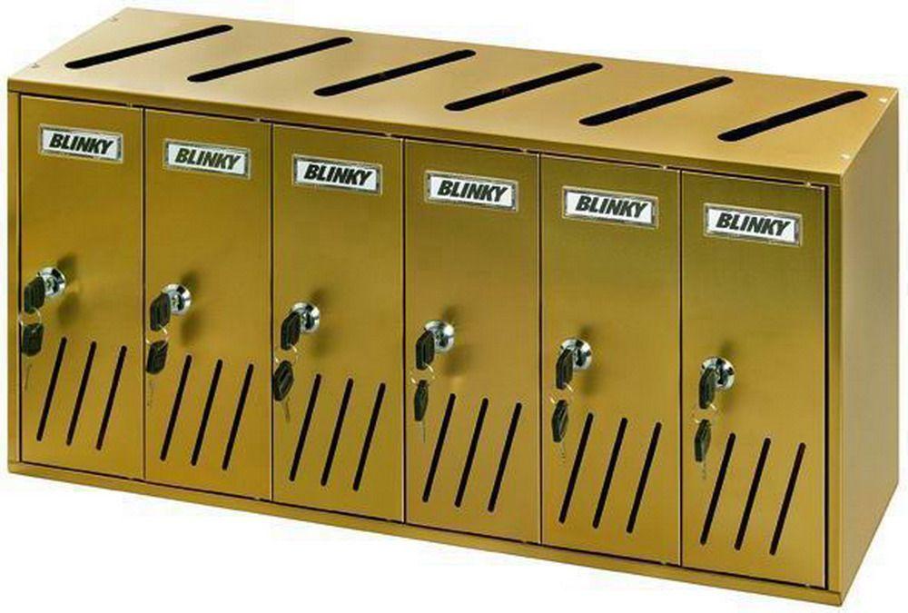 Casellari Postali Blinky - Alu Bronzo K-6 Sr.6 Cod.2735806 - Blinky