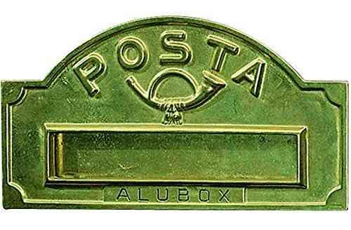 Buche Per Lettere Rivista - A/3 Ottone Lucido Cod.2745010 - Blinky