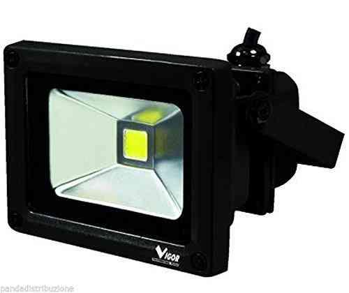 Proiettore Led  - Watt 10 Cod.3478410 - Vigor