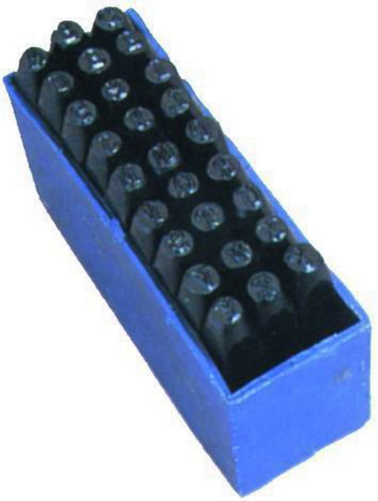 PUNZONI/LETTERE SCAT.PLASTICA - MM.  4