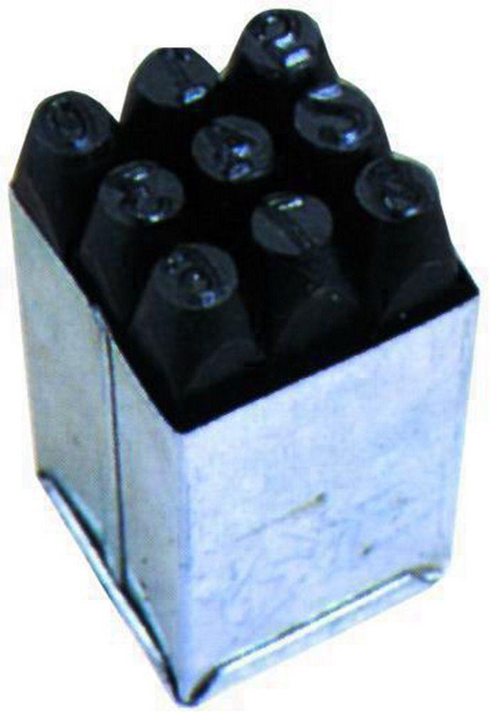 Punzoni Per Numeri Blinky - Mm.  8 Cod.4032008 - Blinky