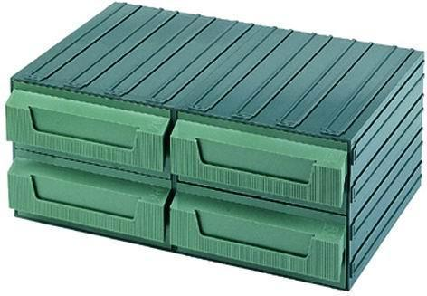 Cassettiere Terry Componibili - Verde  8 Cod.4039008 - Terry Plastic