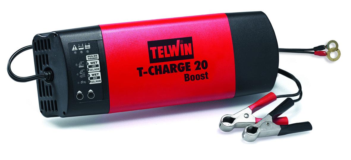 Mantenitore Di Caricat-Charge 20 Boost 12-24V_Cod. 807563_Telwin