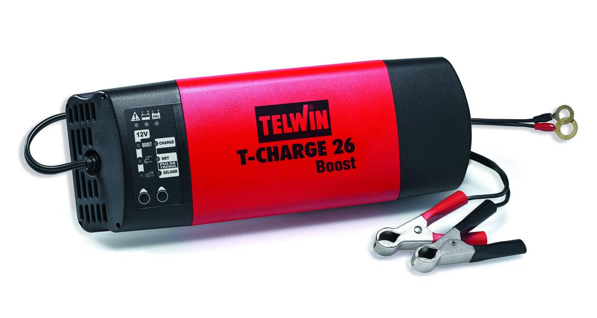 Mantenitore Di Carica T-Charge 26 Boost 12V_Cod. 807562_Telwin