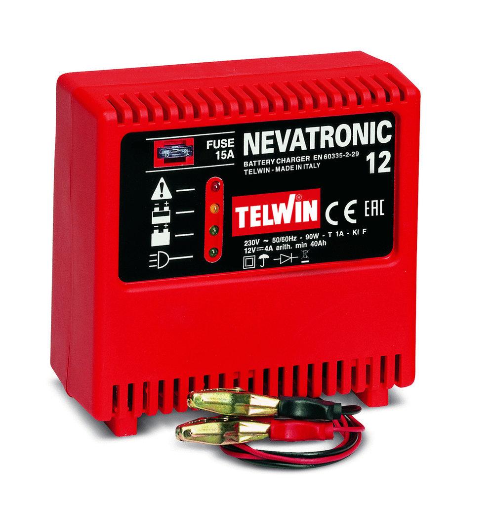 Caricabatterie Nevatronic 12 230V_Cod. 807027_Telwin