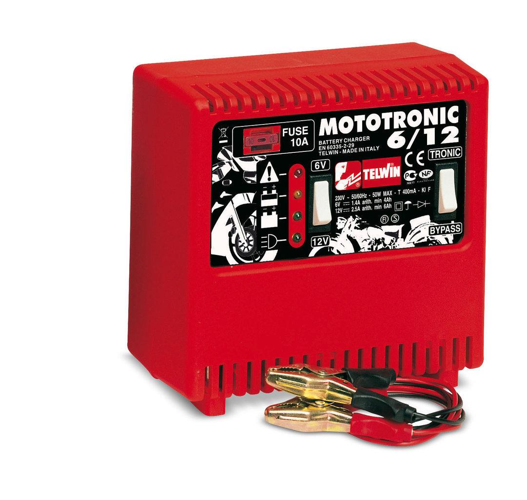 Caricabatterie Mototronic 6/12 _Cod. 807010_Telwin