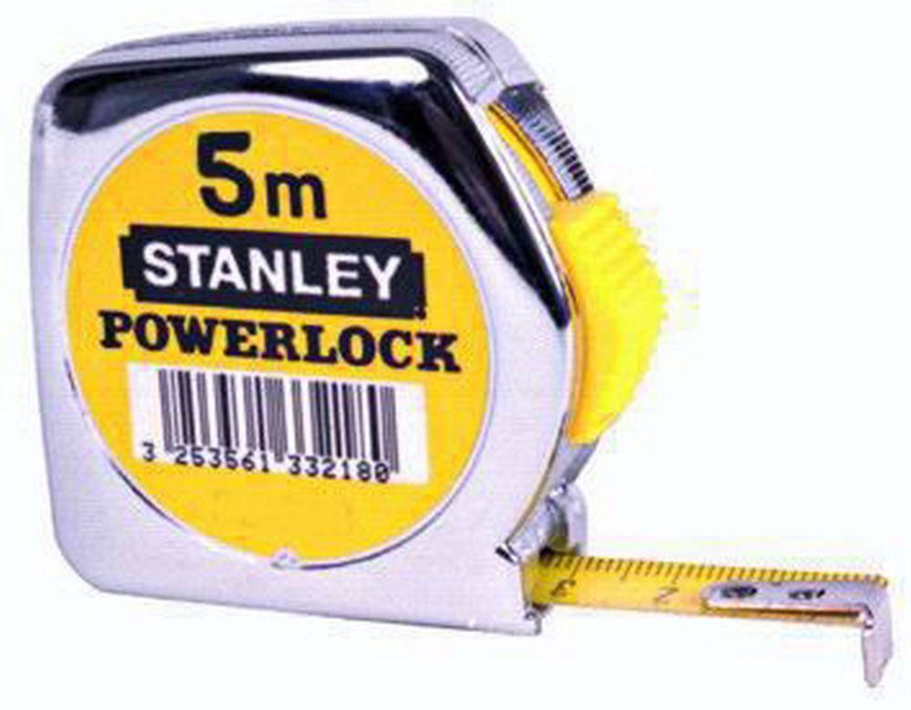 Flessometri Stanley Powerlock - Mt.  5 Cod.5867050 - Stanley