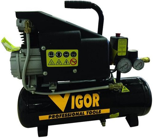 Compressore 8 Lt. 1 Hp Cod.5635005 - Vigor