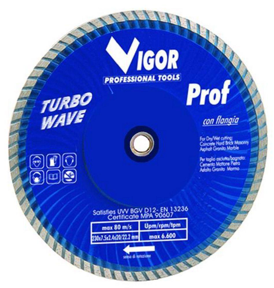 Dischi Diamantati Turbo-Wave - Dia.Mm.230 Cod.5281725 - Vuemme