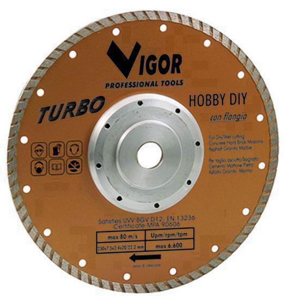Dischi Diamantati Turbo - Dia.Mm.230 Cod.5281510 - Vuemme