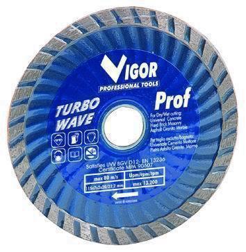 Dischi Diamantati Turbo-Wave - Dia.Mm.115 Cod.5281025 - Vuemme
