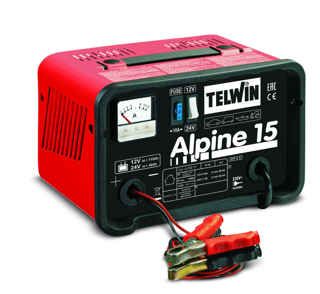 Caricabatterie Alpine 15 Caricabatteria_Cod. 807544_Telwin