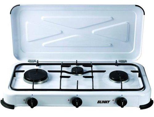 Fornello Gas Gpl 3 Fuochi  Cod.9801003 - Blinky