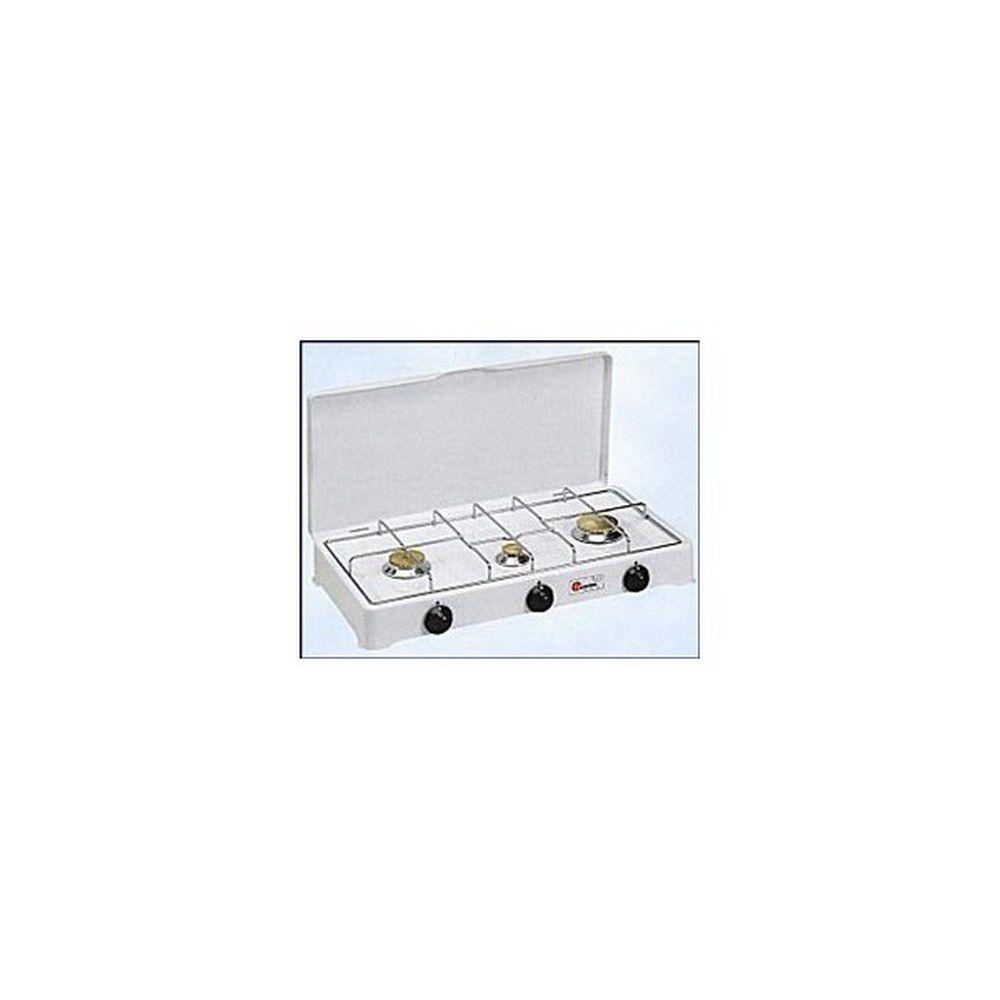 Fornello Gas Gpl - Acciaio Porcellanato 3 Fuochi - Mod. 5328 Cod.9800030 - Parker