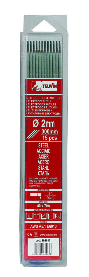 ELETTRODI RUTILI CONF. DA 15 PZ D. 2.5- SOST. 802554