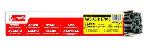 ELETTRODI BASICI D.2,5MM 2,5KG   (804036)