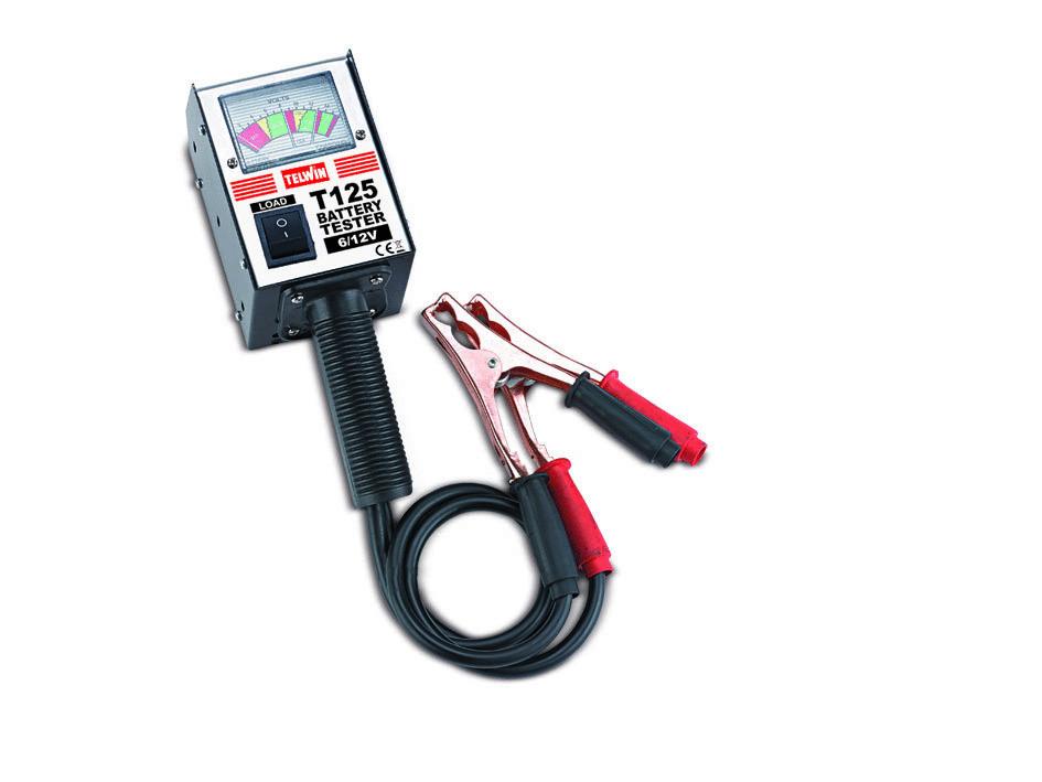 Prova Batterie T125                      _Cod. 802780_Telwin