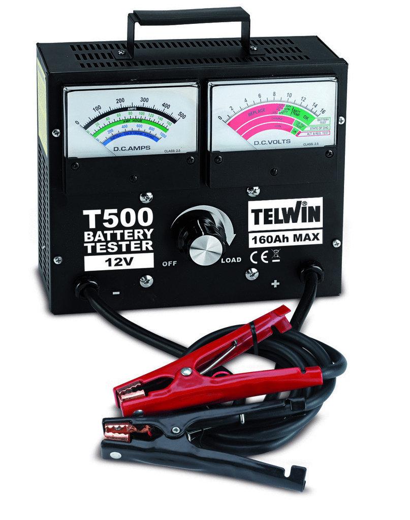 Prova Batterie T500                      _Cod. 802781_Telwin