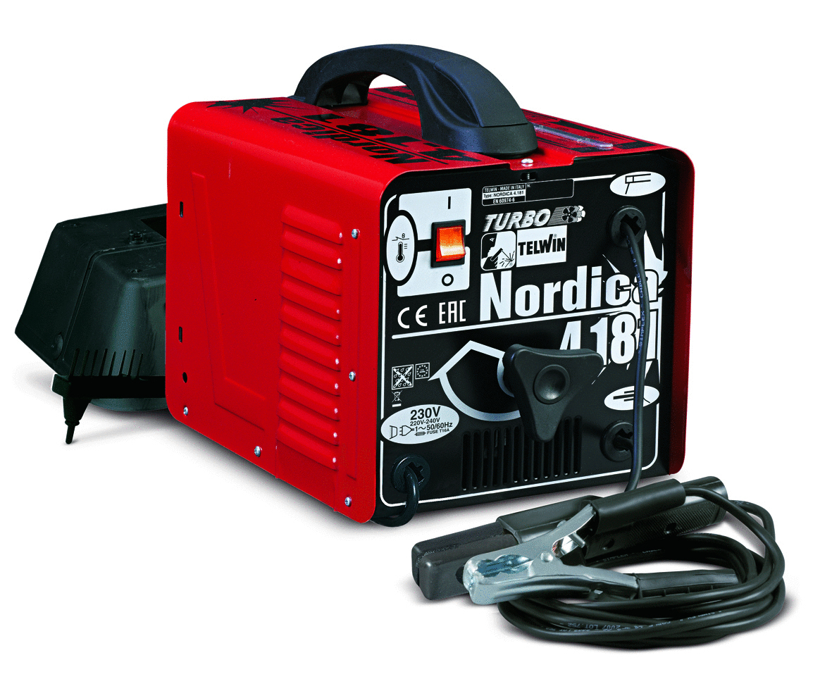 Saldatrice Elettrodo Nordica 4.181 Turbo 230V Acd             Cod.814104 - Telwin