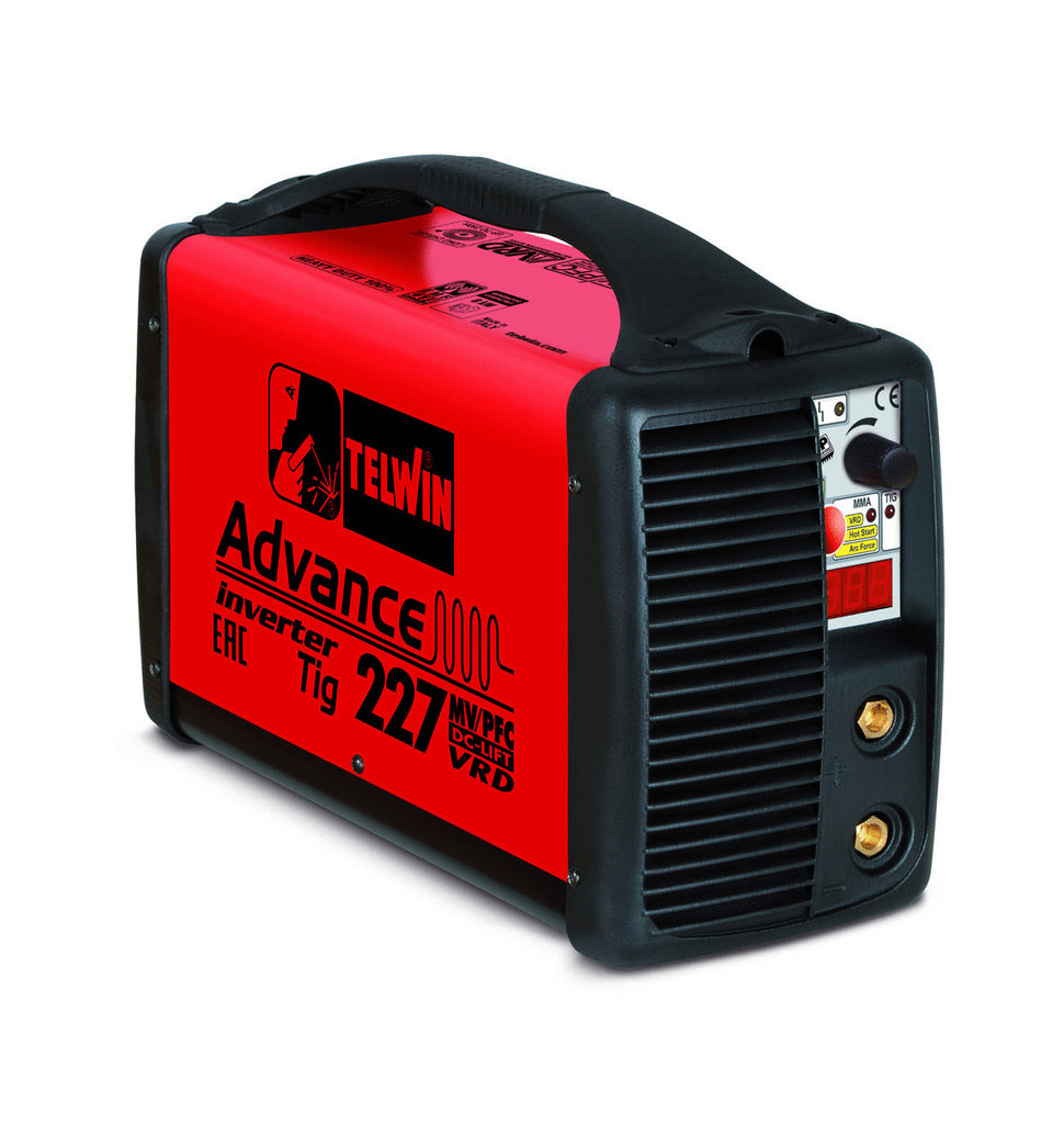 SALDATRICE INVERTER ADVANCE 227 MV/PFC TIG DC-LIFT VRD