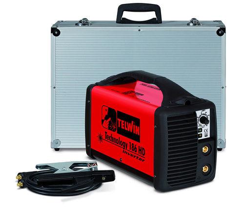 SALDATRICE TIG TECHNOLOGY 186HD 230V ACX+VALIG. ALU