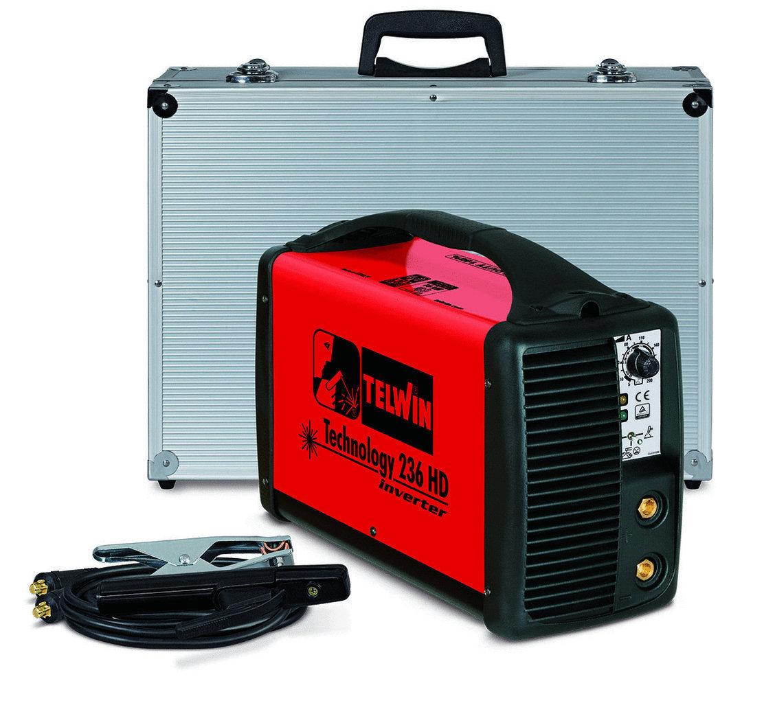 Saldatrice Inverter Technology 236 Hd 230V Acx+Valig. Alu    Cod.816207 - Telwin