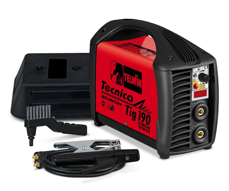 Saldatrice Tig Tecnica Tig 190 Dc-Lift Vrd  230V + Acx _Cod. 852045_Telwin