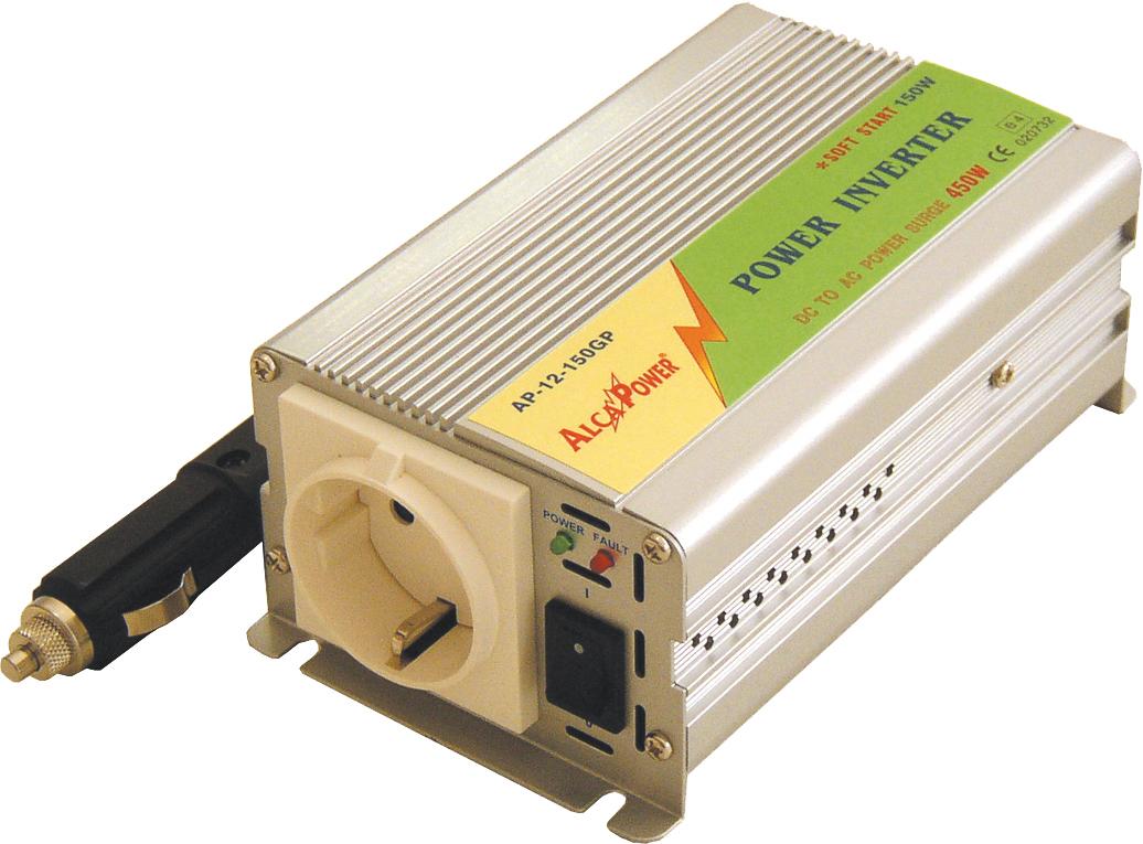 Inverter Soft Start 150W Inp 10-15Vcc Output 220Vac  Ap12-150Gp_Cod. 912328_AlcaPower