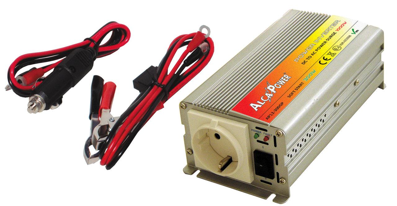 Inverter Soft Start 300W Inp 10-15Vcc Output 220Vac  Ap12-300Gp_Cod. 912330_AlcaPower