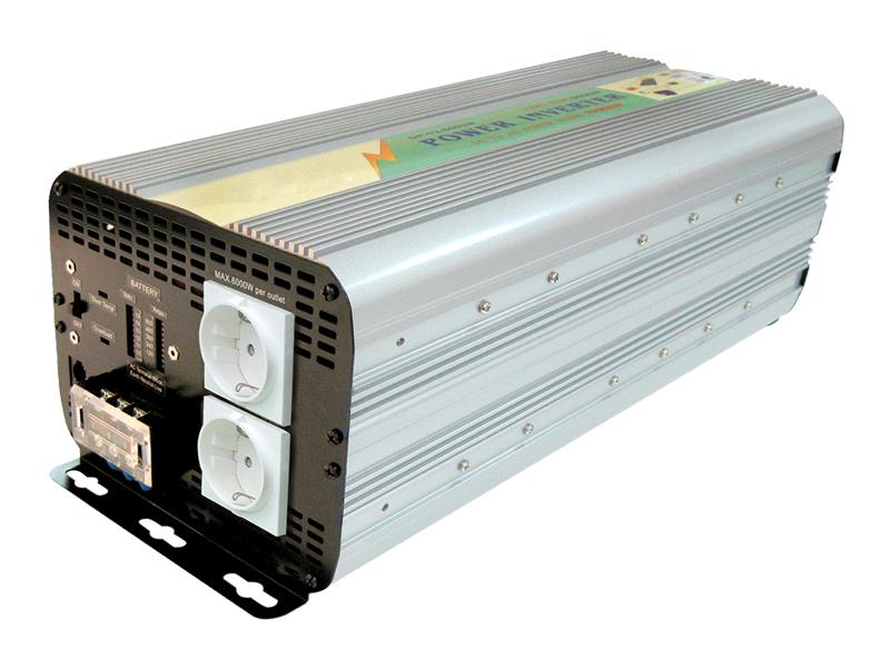 Inverter Soft Start 5000W Input 10-15Vcc Output 220Vac  Ap12-5000Gp_Cod. 912342_AlcaPower