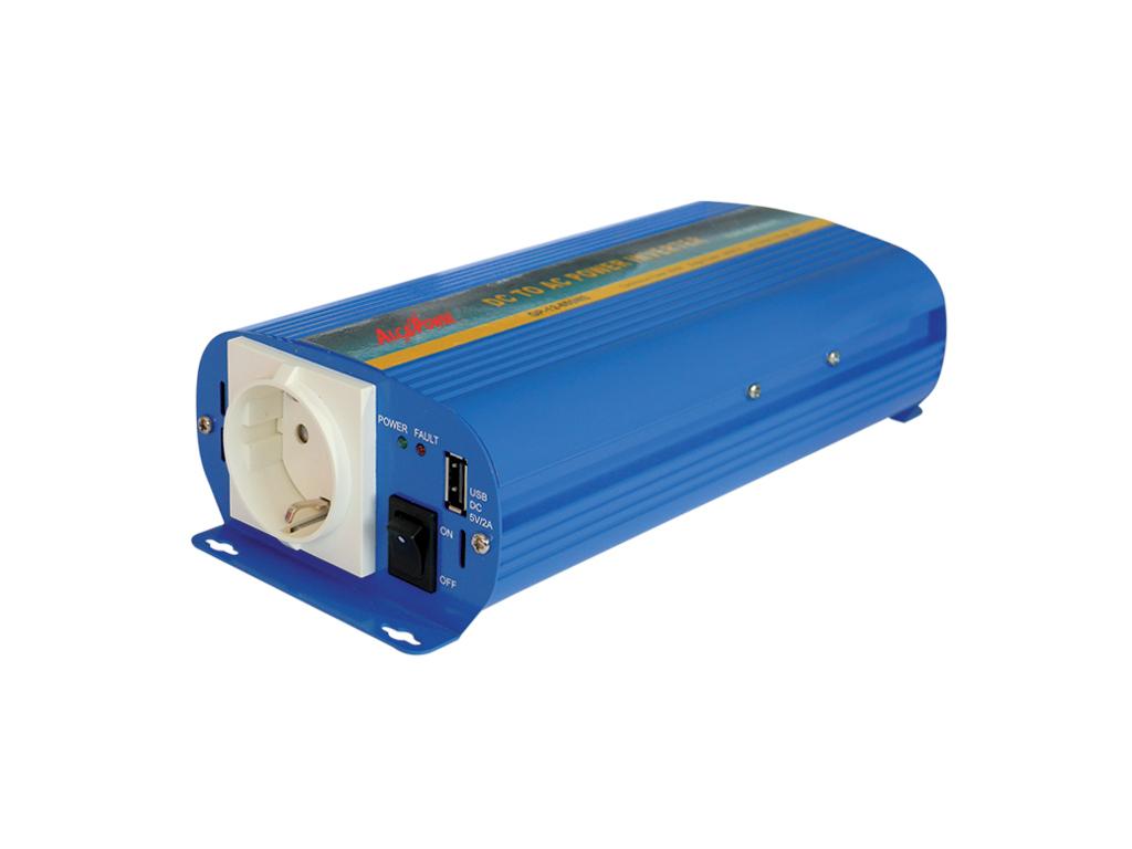 Inverter Sinusoidale Pura 600W Input 20-30Vcc Output 220Vac Ap24-600Ns_Cod. 924311_AlcaPower