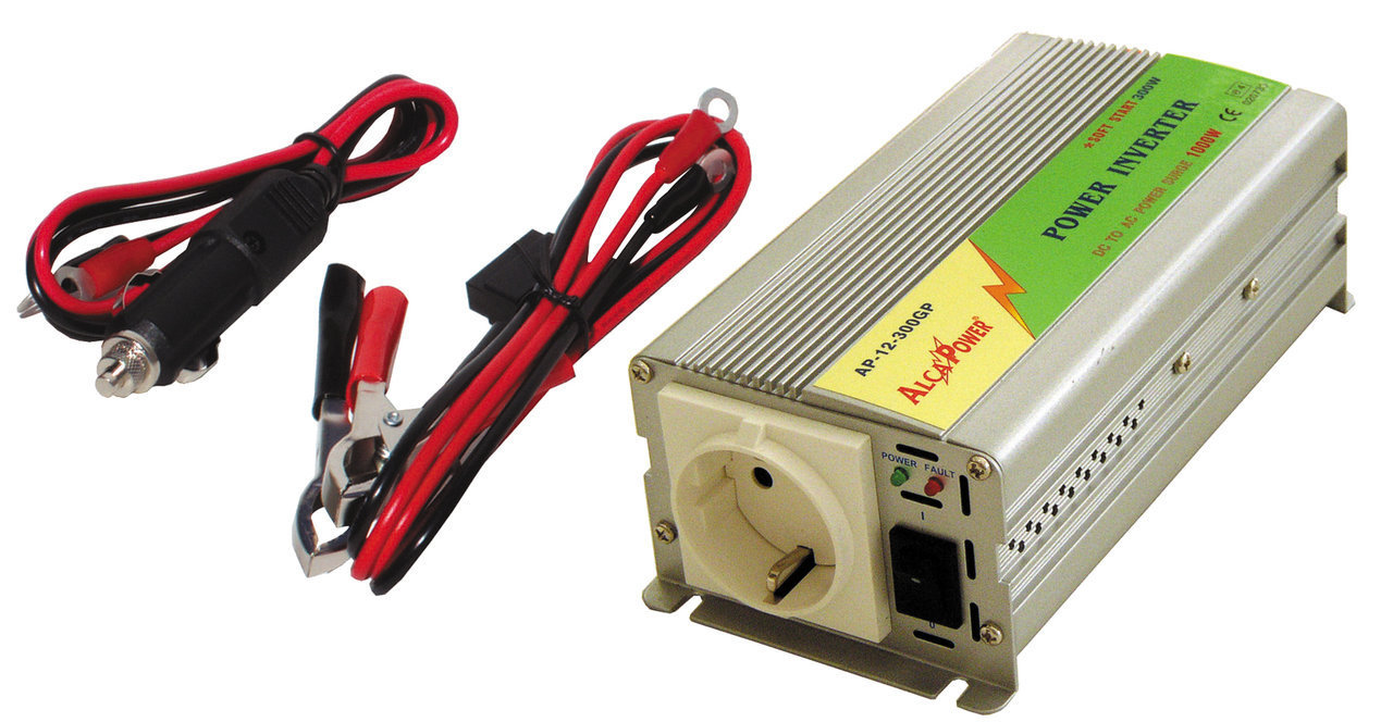 Inverter Soft Start 300W Input 20-30Vcc Output 220Vac  Ap24-300Gp_Cod. 924330_AlcaPower