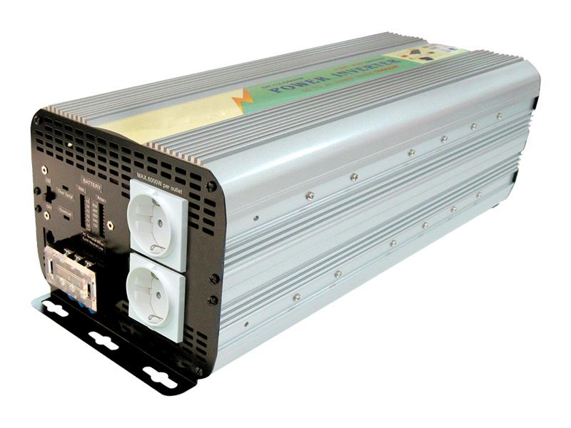 Inverter Soft Start 5000W Input 20-30Vcc Output 220Vac  Ap24-5000Gp_Cod. 924342_AlcaPower