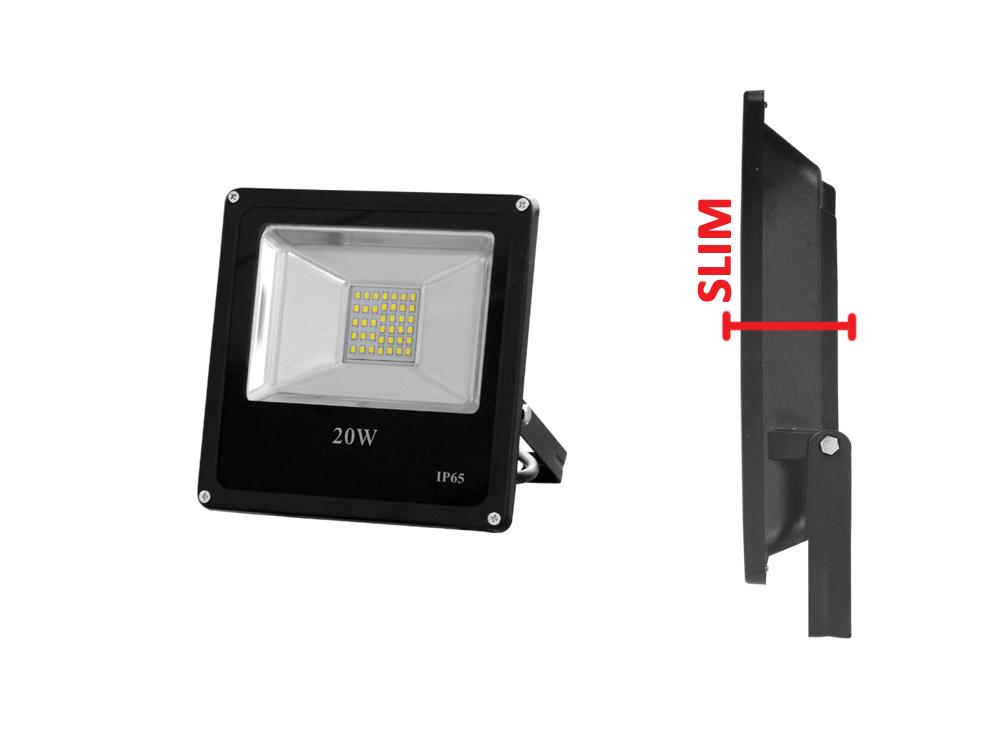Proiettore Led Smd 30W Dimmerabile Bianco Freddo Mod. Ap7130F_Cod. 930175_AlcaPower